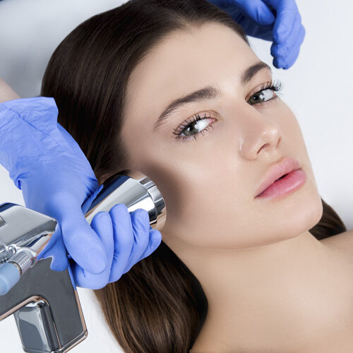 Процедура лазерного пилинга в клинике Perfecto-Room
